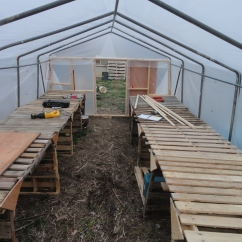 Cold frame finished!