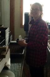 Bryn seeding onions 2013