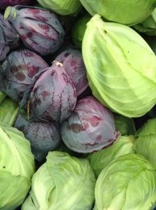 So long for now, cabbage--we hope to see you again in the fall!