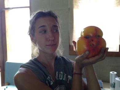 ...and a wacky tomato!